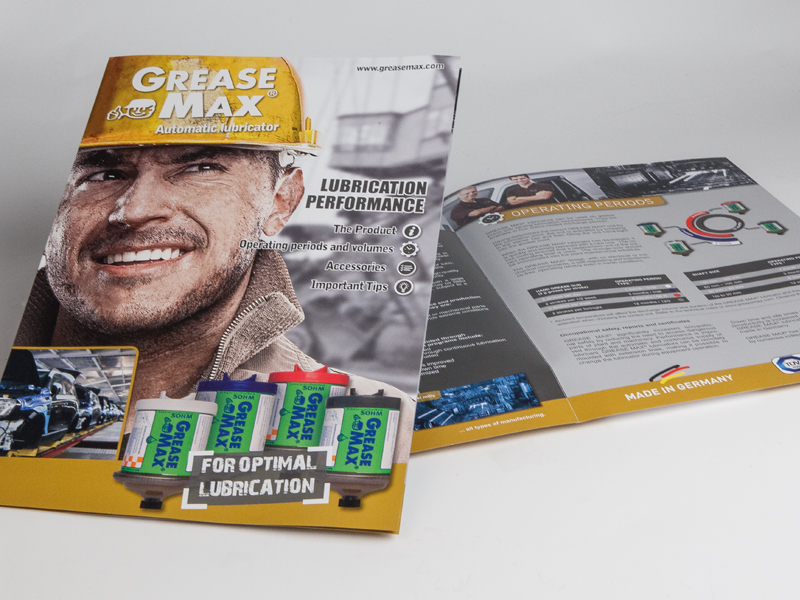 Sohm Grease Max Schmiermittel // Prospekt
